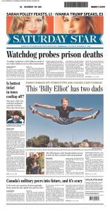 Toronto Star - A1 Oct 17 09
